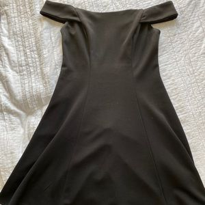 'WORN TWICE' OFF THE SHOULDER HOMECOMING DRESS